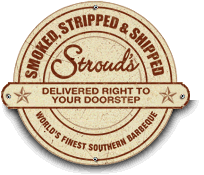 Now you can ship Stroud's delicious Barbeque anywhere in the continental US with our Smoked, Stripped & Shipped. Try Our Barbeque Lover's Sampler Feast!